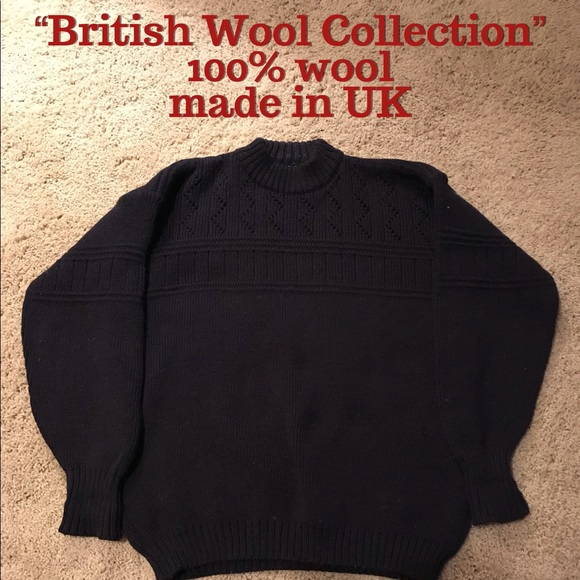 british wool collection Other - ☃️ Vintage British wool mock neck wool sweater